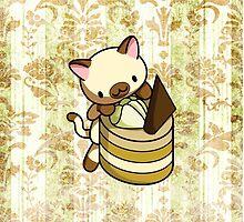 Canelle Apple Kitty by fushiginaringo