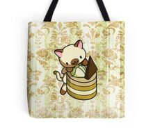 Canelle Apple Kitty Tote Bag