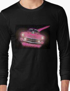 Pink Chevy Long Sleeve T-Shirt