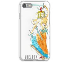 Arcaron: Ashura dancing iPhone Case/Skin