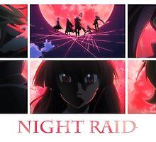 Akame ga Kill! Night Raid [Blood Moon] by Jonathan Masvidal