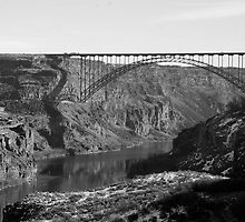Majestic - The Perrine Bridge by J. D. Adsit