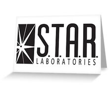 STAR Labs Greeting Card