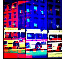 crosstown bus Photographic Print