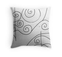More Sketching Throw Pillow