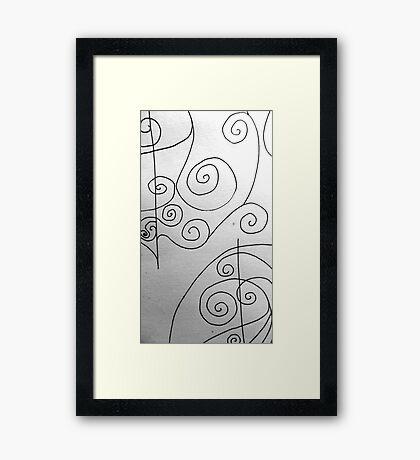More Sketching Framed Print
