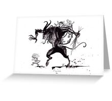Merry Christmas, Krampus! Greeting Card