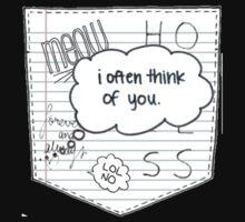 Doodle Pocket Kids Tee