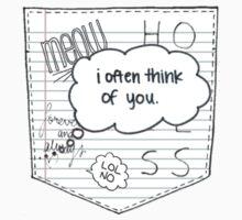Doodle Pocket One Piece - Short Sleeve