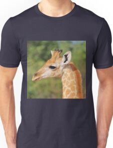 Giraffe Baby - Profile of new Life Unisex T-Shirt