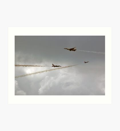 Single frame multi angle pass. Art Print