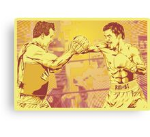 One Two Punch Canvas Print
