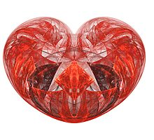 Red Heart by Mary  Lane