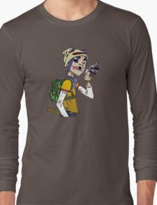 Gorillaz - 2-D Long Sleeve T-Shirt