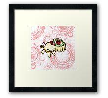 Charlotte Russe Kitty Framed Print
