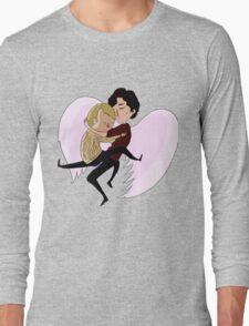 Angels Will Fly [Johnlock] Long Sleeve T-Shirt