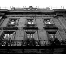part of heritage building Photographic Print