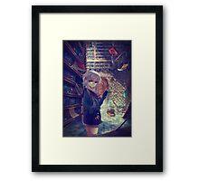 Go the Cross-over Framed Print