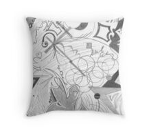 Random Thoughts 3 Throw Pillow
