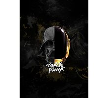 Darth Punk Photographic Print