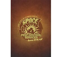 Space pest control services Photographic Print