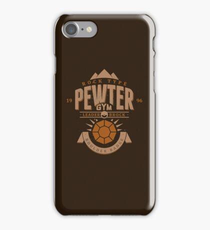 Pewter Gym iPhone Case/Skin