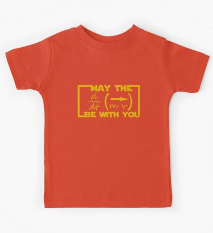 May the Equation be with you Kids Tee