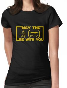 May the Equation be with you Womens Fitted T-Shirt