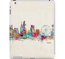 london city skyline watercolor iPad Case/Skin