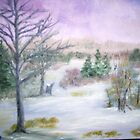 Winter Field by Cynthia Kondrick