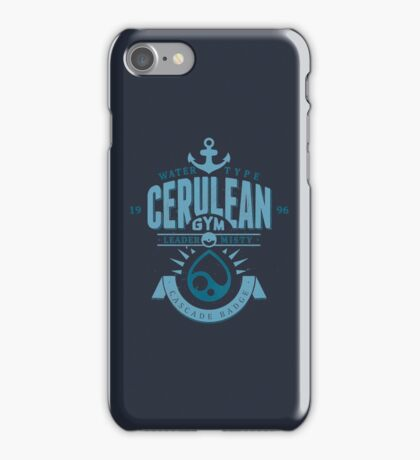 Cerulean Gym iPhone Case/Skin