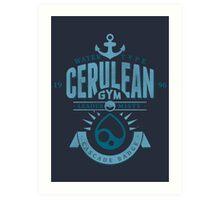 Cerulean Gym Art Print