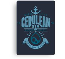 Cerulean Gym Canvas Print