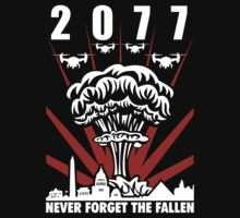 2077 Never Forget The Fallen V1 | Unisex T-Shirt