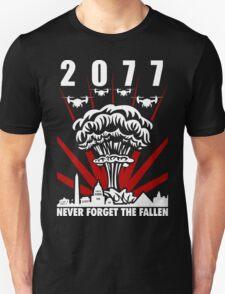 2077 Never Forget The Fallen V1 T-Shirt