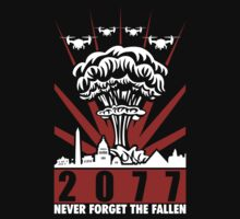 2077 Never Forget The Fallen V2 by ByteCage