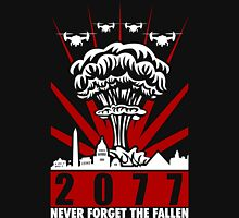 2077 Never Forget The Fallen V2 Unisex T-Shirt