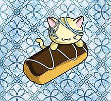 Eclair Kitty by fushiginaringo