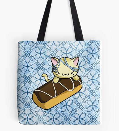 Eclair Kitty Tote Bag
