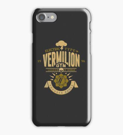 Vermilion Gym iPhone Case/Skin