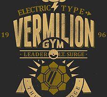 Vermilion Gym by Azafran