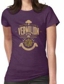 Vermilion Gym Womens Fitted T-Shirt