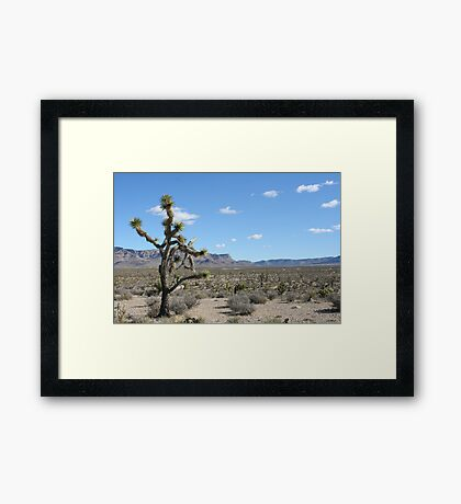 Grand Wash Cliffs, AZ Framed Print