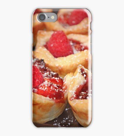 Raspberry Tarts iPhone Case/Skin