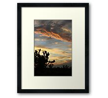 Cima Sky 3 Framed Print