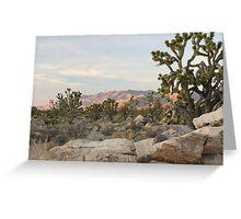 Clark Mountain Alpenglow Greeting Card