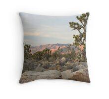 Clark Mountain Alpenglow Throw Pillow