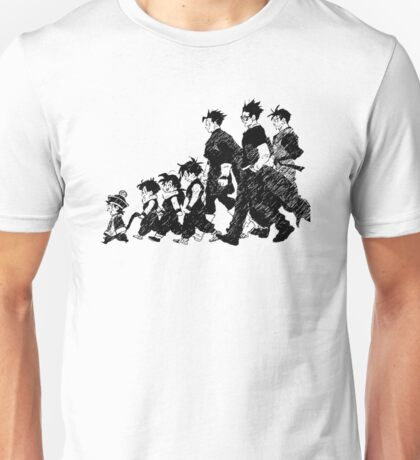 Gohan through the Ages Unisex T-Shirt