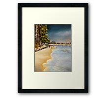 Woodgate Beach  Qld Australia Framed Print