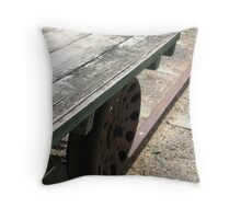 Push the Trolley Throw Pillow